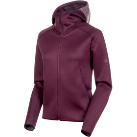 Mammut Logo ML Hooded Jacket Damen galaxy